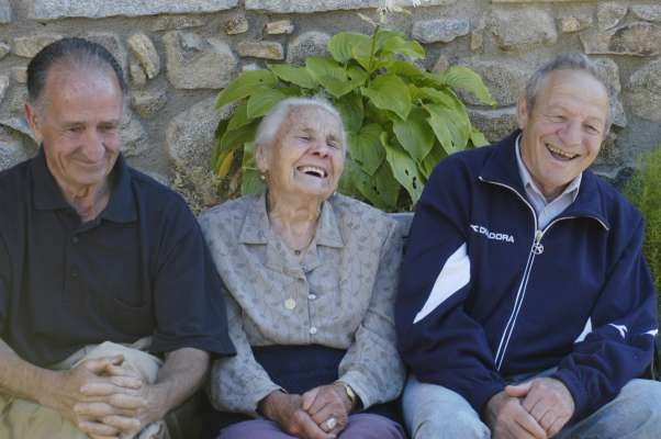 envejecer feliz