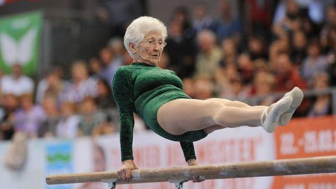 Johanna Quaas, la ancianita que maravilla al mundo con sus piruetas
