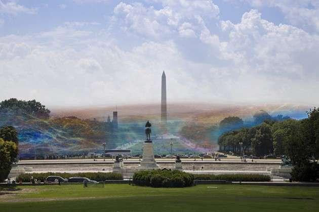 Artista ilustra la densidad de las redes Wi-Fi que surcan el espacio público de Washintong D.C._02