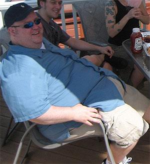 Tras el reencuentro con su novia de la juventud un hombre adelgaza más de 100 kilos