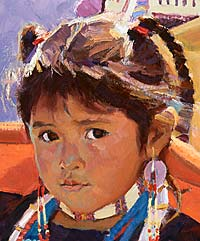 ¿Qué es un Maestro_Lakota Pluma de Águila_indian children