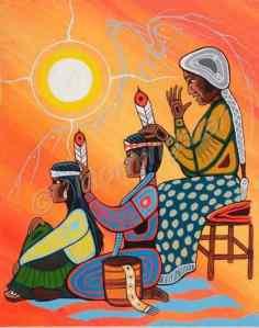 Los siete caminos iniciáticos de la mujer Lakota_Maestra