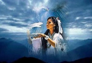 Los siete caminos iniciáticos de la mujer Lakota_Mujer Medicina