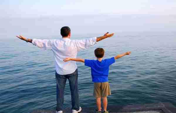 Si alguna vez encuentras en tu hijo algo que no te gusta, mira en tu interior