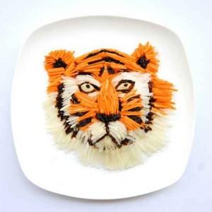 Hong Yi  obras de arte con comida-00