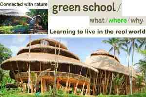 """""""Green School"""" _ La """"Escuela Verde"""""""