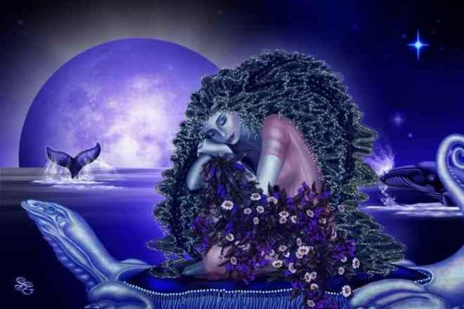 La Nueva Luna de Virgo (Agosto 2014) _ La lunación para todos los signos- Imagen by Sharon George