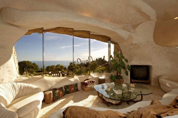 Casa orgánica en Malibú inspirada en Los Picapiedra _viaje hacia si mismo-44