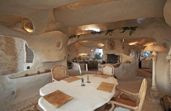 Casa orgánica en Malibú inspirada en Los Picapiedra _viaje hacia si mismo-66
