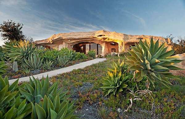 Casa orgánica en Malibú inspirada en Los Picapiedra_Viaje Hacia Si Mismo