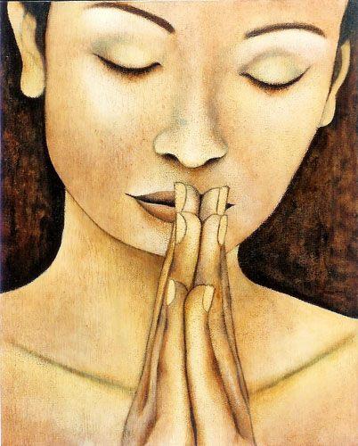 La Oración que como Espíritu Contestamos-Imagen Kimberly Howland- Viaje Hacia Si Mismo