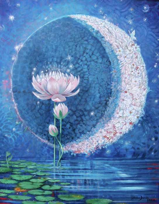 La Nueva Luna de Piscis (Febrero 2015) _ La Lunación para todos los signos - Milena Llop