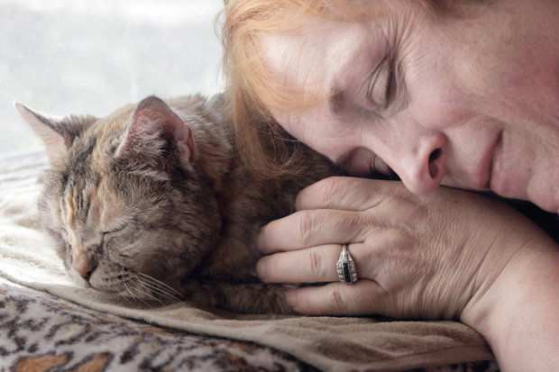 La Fotógrafa Kristin Zabawa capta momentos finales preciosos con mascotas