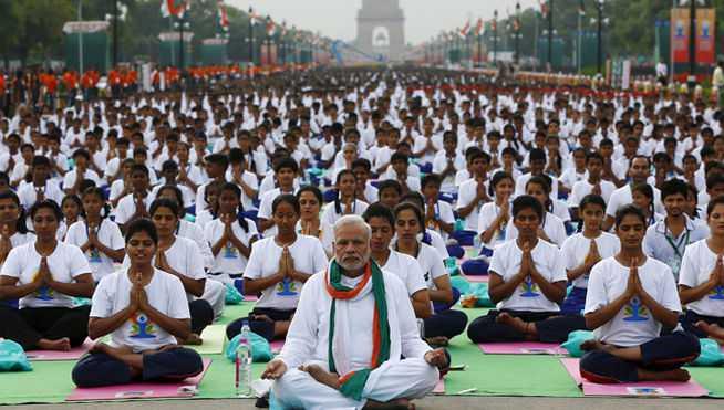 Día Internacional del Yoga-Viaje Hacia Si Mismo