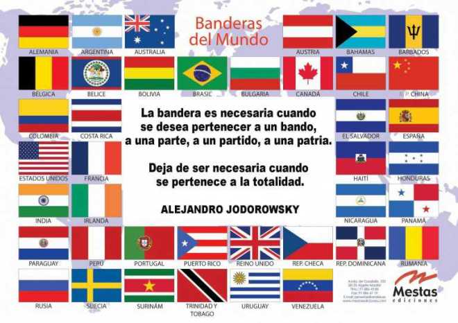 No te identifiques con patrias, banderas etc. En sí, no te identifiques con las decadencias-Claudio Naranjo-Viaje Hacia si Mismo