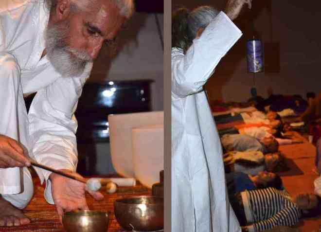 Vikrampal Singh Baño de Gong. Terapia con los sonidos del cosmos-55