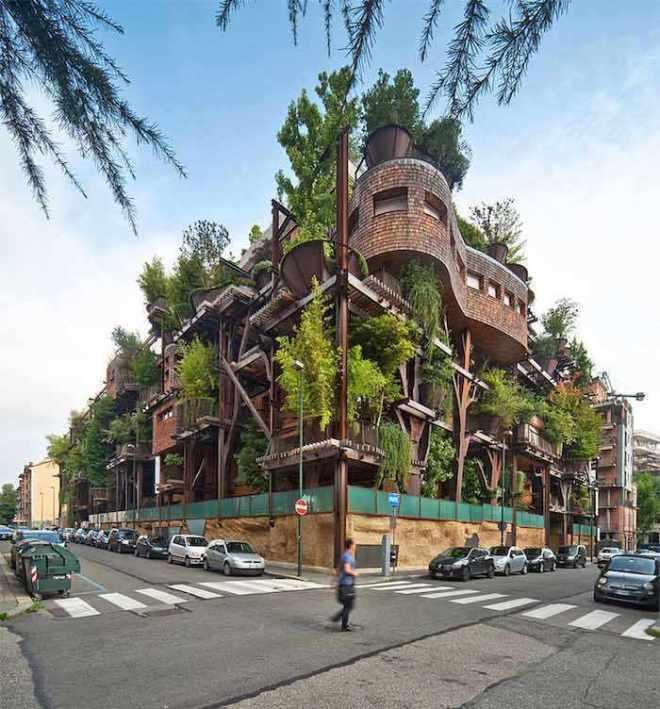 Vivir en un bosque vertical en medio de la ciudad-Viaje Hacia Si Mismo