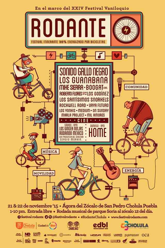 El Festival donde los asistentes pedalearán para generar energía. Rodante-Viaje Hacia Si Mismo-00