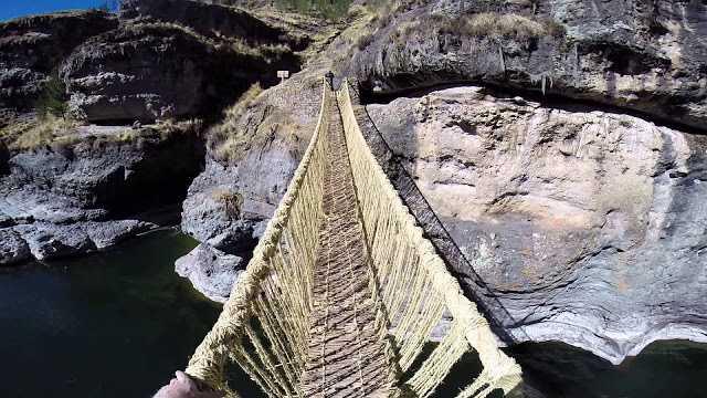 Q´eswachaka, el último puente colgante-Viaje Hacia Si Mismo