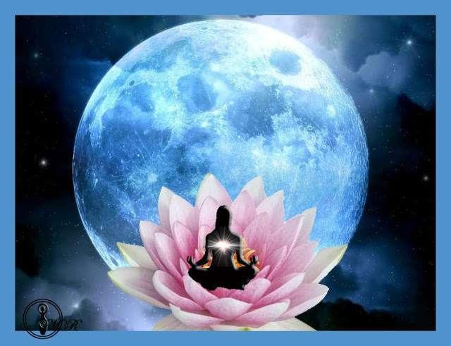 El sol y la luna viaje hacia s mismo for Que es luna creciente